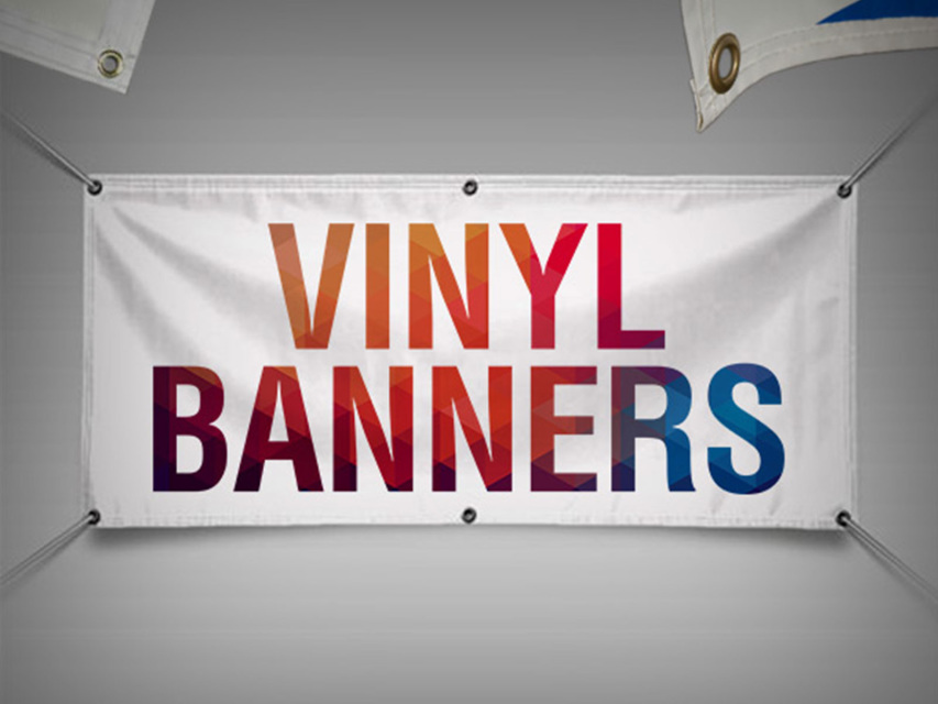 Vinyl Banner 13oz Full Color With Grommets
